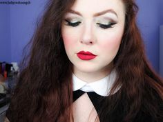 Babyredvamp Makeup: Face Of The Day - A Glass of Glitter (with Lit Cos...