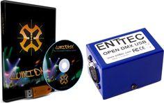 LumiDMX X1 Light Controll Basic Bundle  Open source lösning  för ljud och ljuskontroll...