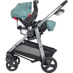 Graco Sky Carseat Mode - Travel System - Stock Image