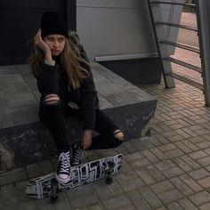 Outfits, vans, street, skate, skateboard