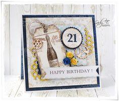 Dzien Dziadka Grandads Day card Kartka Happy Birthday Urodziny