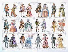 Historical Dress Sampler. Love this.