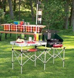 Coleman Pack-Away® Kitchen Camping Hunting Bug Out Scouting Preper Emergancy Outdoor Backyard Spring Time Party!