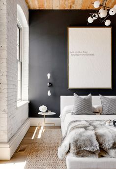 13 Chic Black Rooms - Sugar and Charm - sweet recipes - entertaining tips - lifestyle inspiration