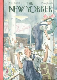 The New Yorker  November 30, 1940  Vol. 16, N° 42 (Whole No. 824)   Cover Art - Perry Barlow
