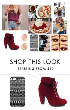 """""""Eating sweets"""" by mtvlover27 ❤ liked on Polyvore featuring Uncommon and Ray-Ban"""