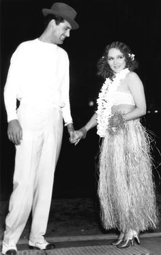 Cary Grant and Mary Pickford, 1933 Something about this photo I love!