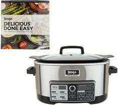 Bring home the ultimate cooking weapon for your kitchen with the Ninja 4-in-1 cooking system. QVC.com