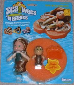 Sea Wees! I remember playing with these little dolls as a girl. :)