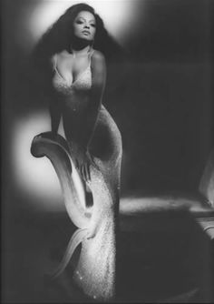 diana ross by george hurrell