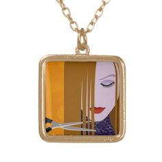 Hair Stylist Necklace