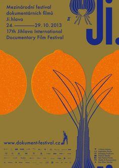poster for Jihlava International Documentary Film Festival