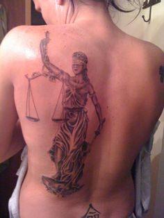lady justice tattoo | chest piece tattoo 360 x 480 70 kb jpeg credited