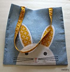 Easter is almost here, and I'm gearing up for Spring by sewing a couple of Bunny Face Bags for my kids. My children love bunnies (what kid d...