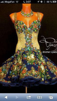 Russian folks Latin dress competition - maybe a bit irish-like too :)