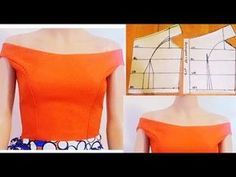 Hello all, in this video, you will learn how to cut and sew a princess dart off shoulder cut with sleeve in an easy way. Firstly I drew out a princess dart p. Sew Off Shoulder Top, Shoulder Sleeve, Off Shoulder Blouse, Bodice Pattern, Blouse Sewing Pattern, Sleeve Pattern, Pattern Drafting, Princess Cut Blouse, Blouse Tutorial
