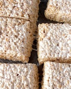 Dairy Free Coconut Oil Rice Crispy Treats - A Golden Barrel Recipe