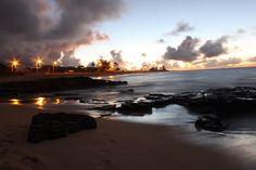 Sandy Beach . . . Honolulu, Hawaii