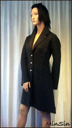 Produktbilde High Neck Dress, Sweaters, Clothes, Dresses, Design, Fashion, Turtleneck Dress, Outfits, Vestidos