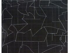 Hanns Schimansky o.T. 2011 Kreide auf gefaltetem Papier 70,5 x 87,8cm