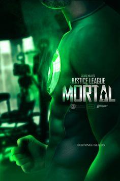 Justice League Mortal Green Lantern Documentary Poster - Boss Logic