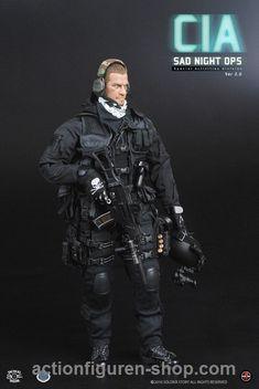 www.actionfiguren-shop.com | CIA - SAD Night OPS Version 2.0 | Online 1:6 Figuren und Zubehör kaufen