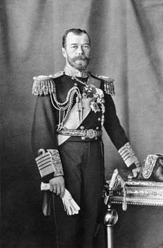 (1917) Czar Nicholas was blamed for failure in the great war and had to give up power and did not aid well during the Russian revolution.