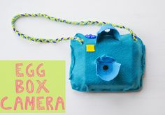 Brilliant!! Egg Box Camera @Jess Pearl Pearl @ Let's Do Something Crafty