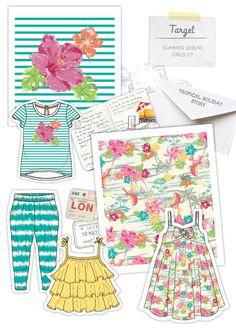 Target Girlswear - Sharon Orgad Portfolio - The Loop Creative Jobs, Girl Dress Patterns, Creative Portfolio, Fashion Design Sketches, 2020 Fashion Trends, Girl Inspiration, Kids Prints, Grafik Design, Kid Styles