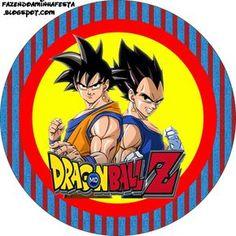 Dragon Ball Z: Etiquetas para Candy Bar para Imprimir Gratis.