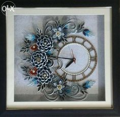 Archive: Paper quilling wall clock - Nashik - Home & Furniture