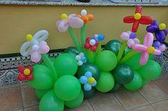 Decoracion de Fiestas Infantiles con Flores, Salones, parte 2
