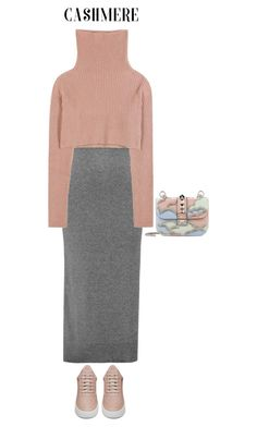 """""""Cozy Cashmere Sweaters"""" by polivorka-polivorochka ❤ liked on Polyvore featuring Sandro, Valentino, Filling Pieces and cashmere"""