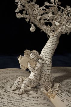 """Summer Reading""  Book Sculpture by Emma Taylor - Professional Photography"