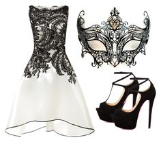 """Baile de Máscaras - Alascie"" by joistic ❤ liked on Polyvore featuring Naeem Khan, Masquerade and Talitha"