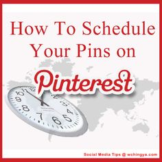 Find out how to space out your pins and reach followers without flooding their #pinterest streams: http://www.wchingya.com/2012/08/schedule-pinterest-pingraphy.html