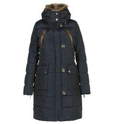 Manteau femme effet fourrure