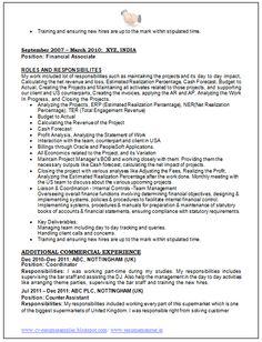 Cv Resume Format Sales & Marketing Resume Format 2  Career  Pinterest  Marketing .