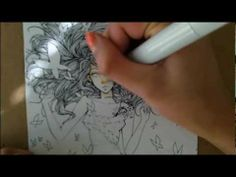 Copic Marker Coloring: Butterflies