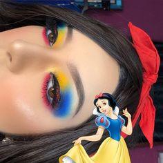 Crown Cosmetics and Makeup Brushes Disney Eye Makeup, Disney Inspired Makeup, Disney Princess Makeup, Movie Makeup, Disney Character Makeup, Disney Villains Makeup, Cool Makeup Looks, Crazy Makeup, Cute Makeup