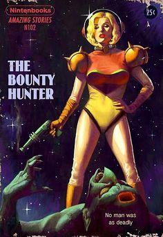 Witcher, Zelda, Metroid, BioShock, And More Games as Pulp Fiction Arte Do Pulp Fiction, Pulp Fiction Kunst, Pulp Fiction Book, Pulp Novel, Pulp Fiction Comics, Literary Fiction, Bioshock, Arte Sci Fi, Sci Fi Kunst