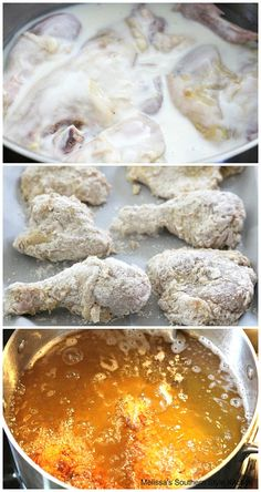 Kfc Chicken Recipe, Homemade Fried Chicken, Fried Chicken Breast, Buttermilk Fried Chicken, Chicken Sandwich Recipes, Fried Chicken Recipes, Fried Pork, Meat Recipes, Cooking Recipes
