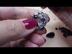 tutorial orecchini Violetta - YouTube