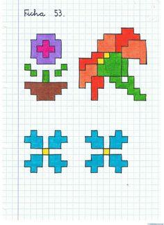 166 Mejores Imágenes De Cuadricula Graph Paper Art Drawings Y