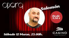 Casino Cirsa Valencia y Opera presentan al gaditano Salomón - http://www.valenciablog.com/casino-cirsa-valencia-y-opera-presentan-al-gaditano-salomon/