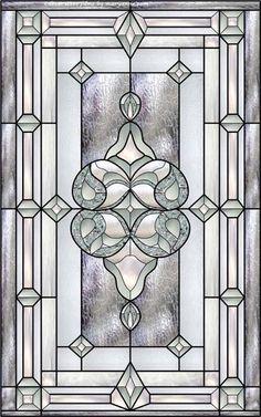 Stained Glass Door Panel Decorative Window Film remodel
