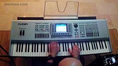 Jim Vives - #KetronAudya keyboard - #latinjazz #jazz #piano #gopro