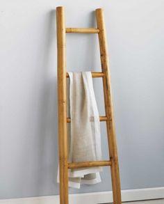 bamboe ladder badkamer – devolonter, Badkamer