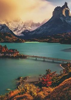torres del paine national park, chile, I took a 40 hour ferry ride through this national park circa Amazing Vistas! Parc National Torres Del Paine, Patagonia, Places To Travel, Places To See, Places Around The World, Around The Worlds, Beautiful World, Beautiful Places, Landscape Photography