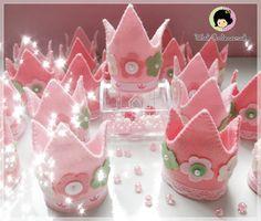 Wal Artesanal o site do feltro: Coroas de Princesa